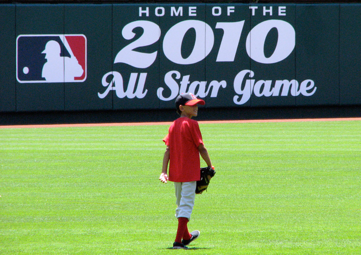 Christian Rohm at Angel Stadium
