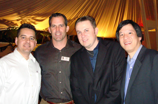 Aaron Jacoby, Robb Nen, Rob Rohm, and Phil Lau