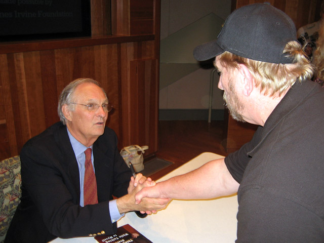 Alan Alda and Bob Rohm