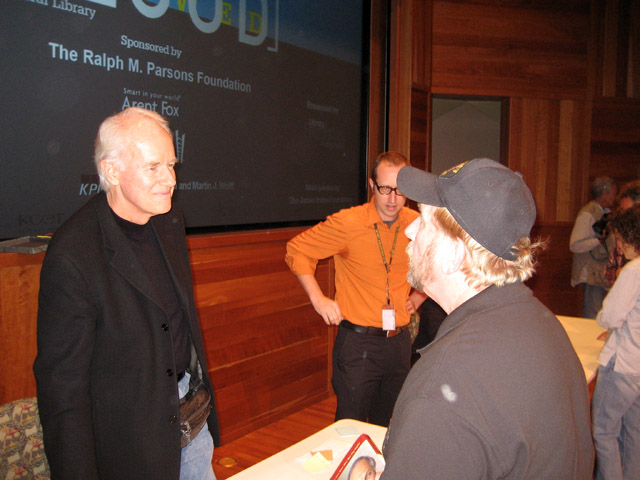 Mike Farrell and Bob Rohm