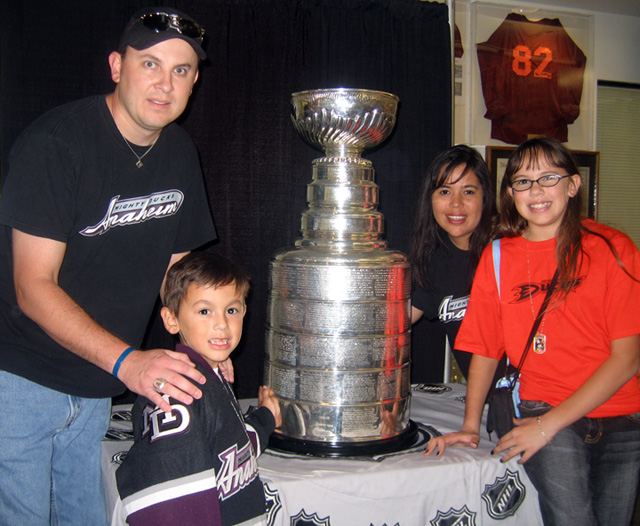 Stanley Cup and the Rohm Family